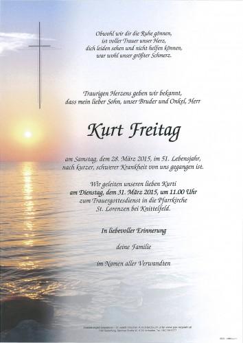 Kurt Freitag