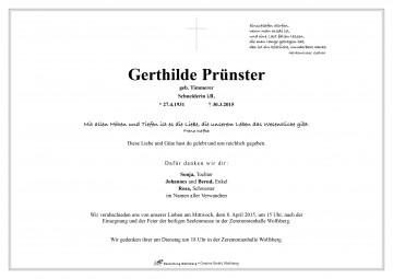 Gerthilde Prünster