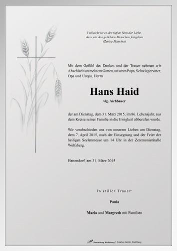 Johann Haid