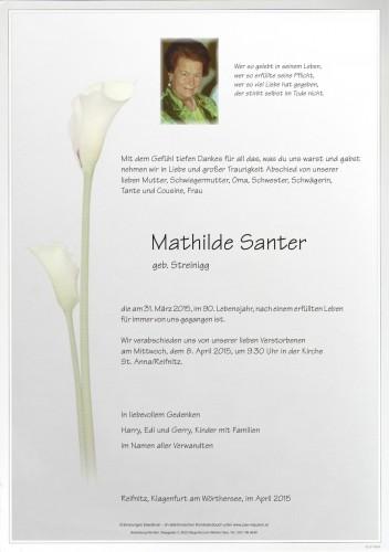 Mathilde Santer