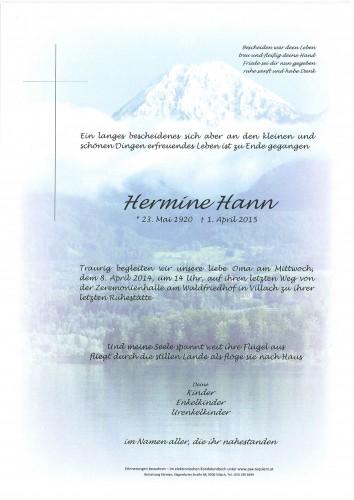 Hermine Hann
