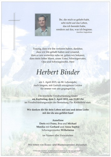 Herbert Binder