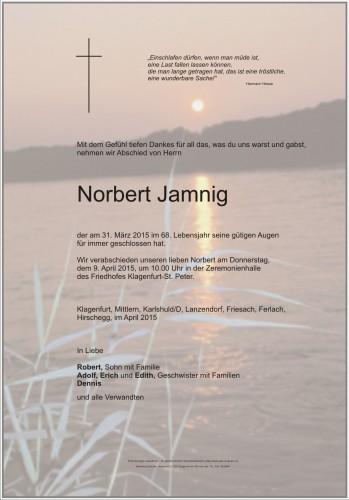 Norbert Jamnig