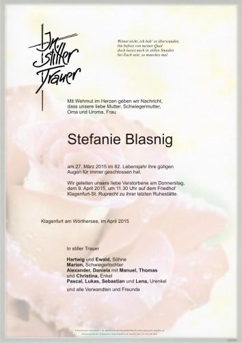 Stefanie Blasnig