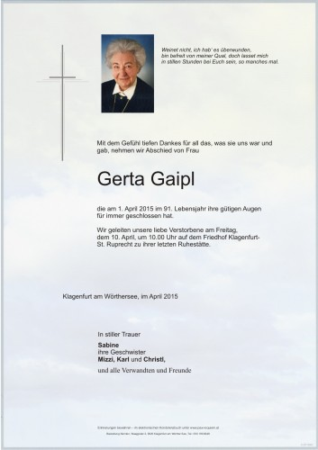 Gerta Gaipl
