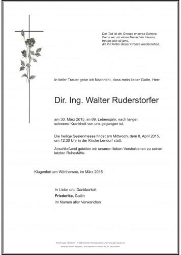 Ing. Walter Ruderstorfer