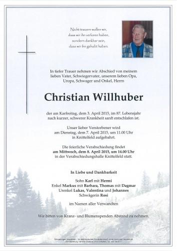 Christian Willhuber
