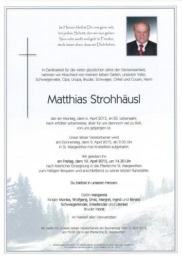 Matthias Strohhäusl