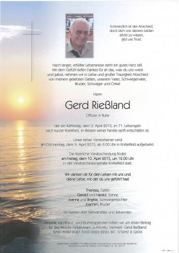 Gerd Rießland