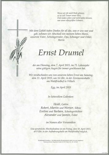 Ernst Drumel