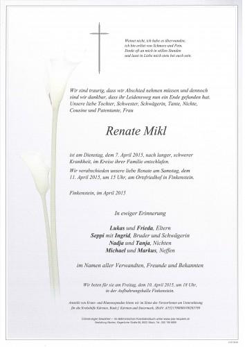 Renate Mikl