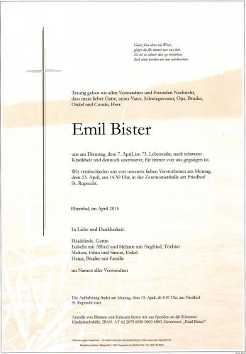 Emil Bister