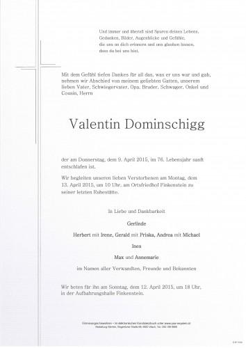 Valentin Dominschigg