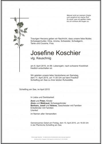 Josefine Koschier