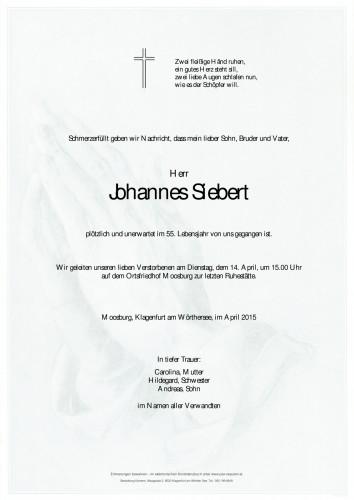 Johannes Siebert