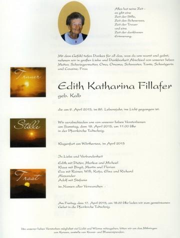Edith Katharina Fillafer