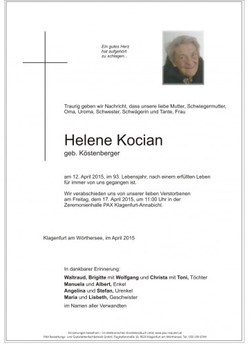 Helene Kocian