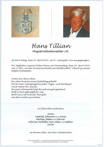 Johann Tillian