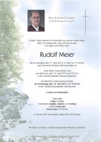 Rudolf Meier