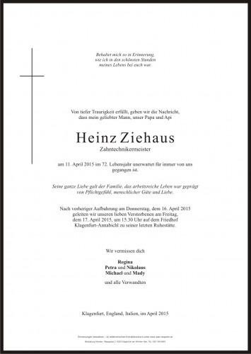 Heinz Ziehaus