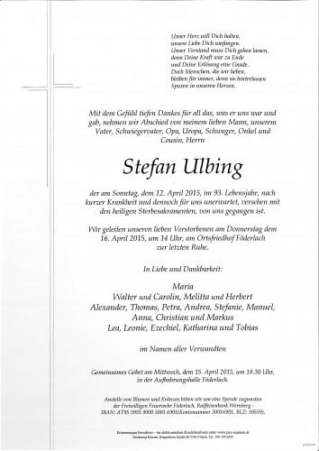 Stefan Ulbing