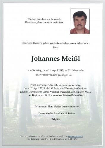 Johannes Meißl