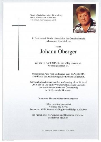 Johann Oberger
