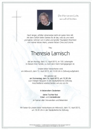 Theresia Lamisch