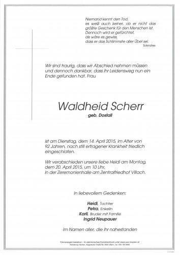 Waldheid Scherr