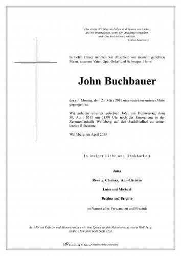 Buchbauer John