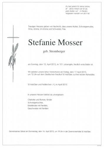 Stefanie Mosser