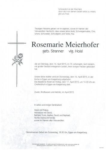 Rosemarie Meierhofer
