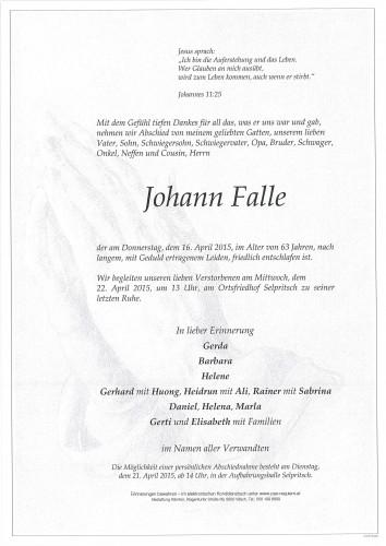 Johann Falle