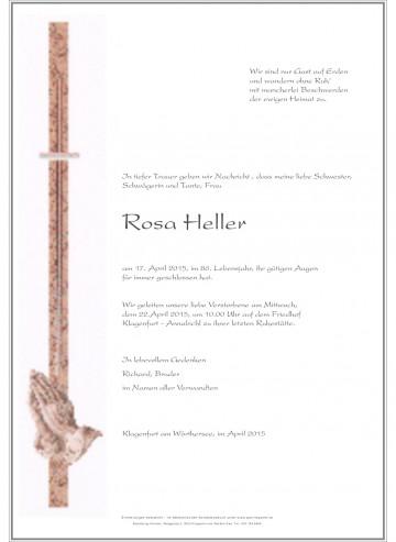 Rosa Heller