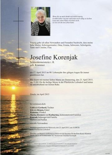 Josefine Korenjak