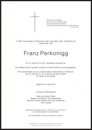 Franz Perkonigg