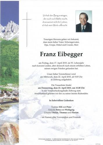 Franz Eibegger