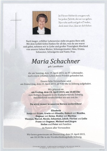 Maria Schachner