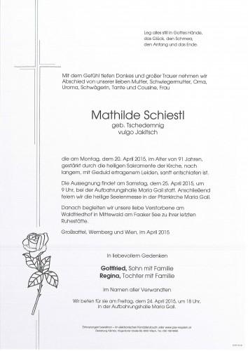 Mathilde Schiestl