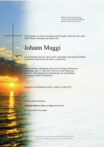 Johann Muggi