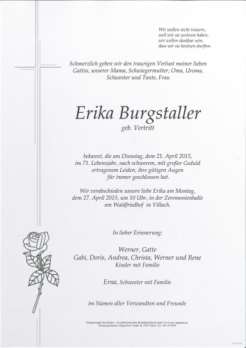 Erika Burgstaller