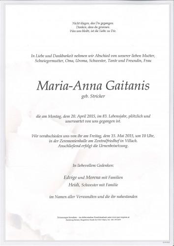 Maria-Anna Gaitanis