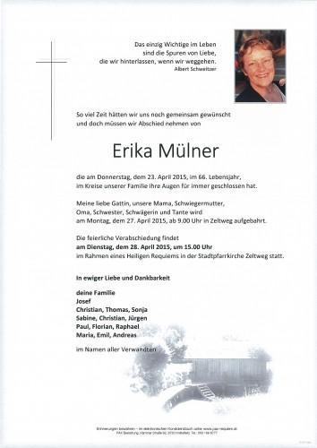 Erika Mülner