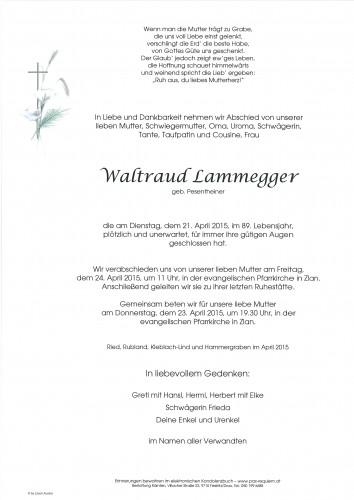 Waltraud Lammegger