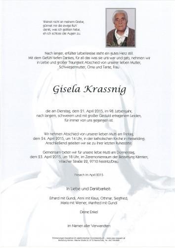 Gisela Krassnig