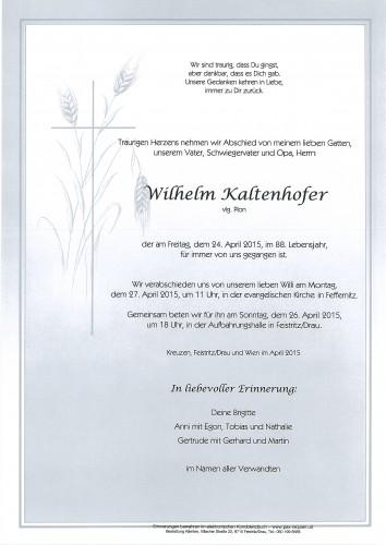 Wilhelm Kaltenhofer, vlg. Plon