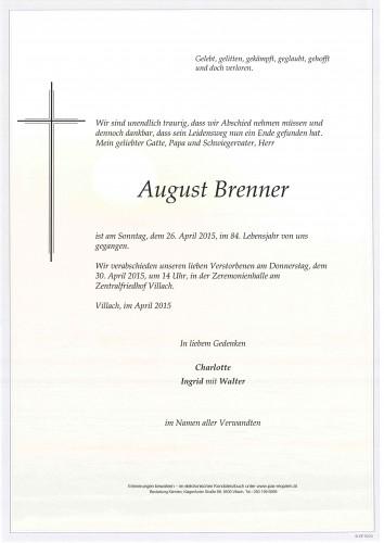 August Brenner