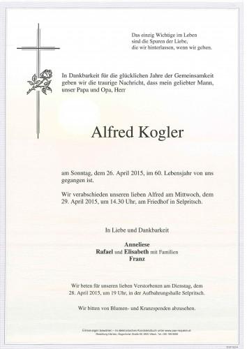 Alfred Kogler