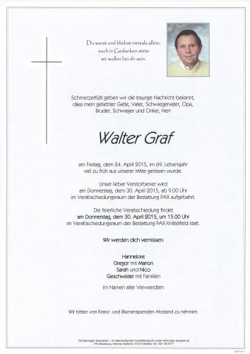 Walter Graf