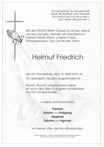 Helmut Friedrich